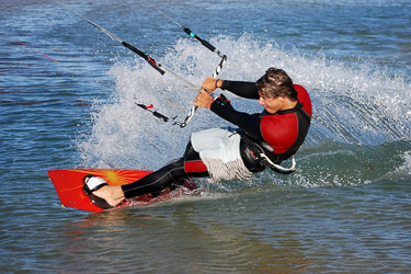 Kitesurfing in Algarve